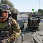 Panzer Kompanie auf der verschiebung