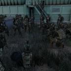 U.S Army Rangers vor dem Einsatz