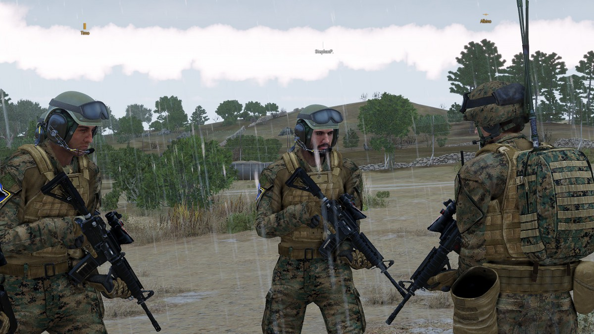 Absprache zwischen Infanterie Platoon und Tank Platoon