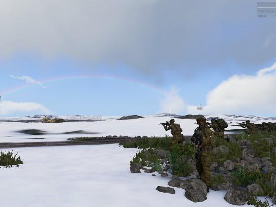 Fabulous Rainbow and a Rainbow
