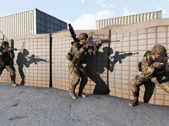 CQB in der feindlichen Basis