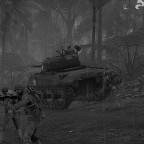 Angriff mit Panzerunterstützung