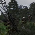 [OP Spear Defense] in Stellung mit der 10th Fernglas Division