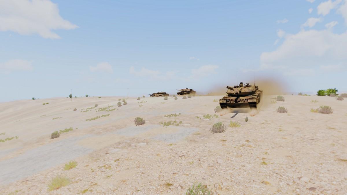 Stahlkadser im Angriff (Panzertechnik Seminar) I
