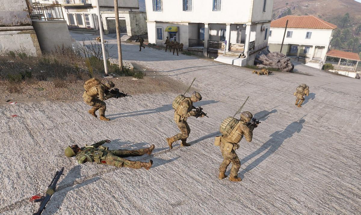 U.S Marines im CQB