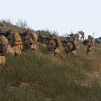 U.S Marines in Zuglinie