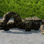 Wenn der Aufblasbare Soldat Kaput geht =(