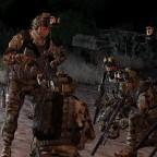 Britische SAS vor dem Einsatz