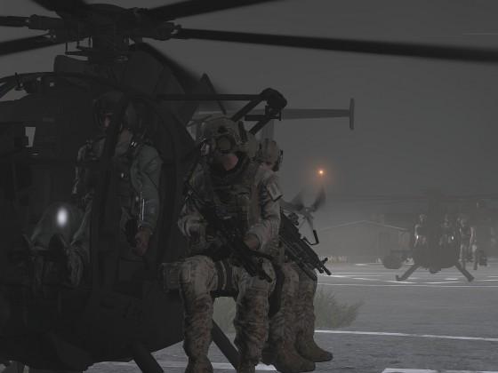 Delta Force bereit zum Abflug