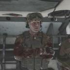 [OP Spear Defense] AU .. AUssteigen, der SPZ steht Kopf